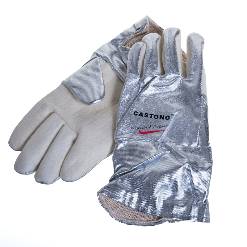 Lab High temperature resistant gloves Lab Supplies 300-400 degreeLab High temperature resistant gloves Lab Supplies 300-400 degree