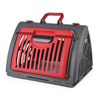 Pet Dog Carrier Portable Dog Carrier Pet Air Box Collapsible Dogs Cats Checked Out Box Car