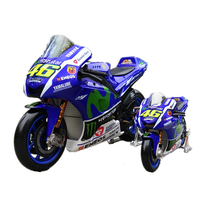 1 10 Maisto Motorcycle Model Toy Alloy ABS Racing Motorbike Simulation Yamaha Honda Motor Car Models