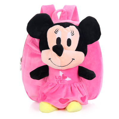 Girls/' Mickey Mouse /& Friends Minnie Mouse Plush Backpack Pink #6