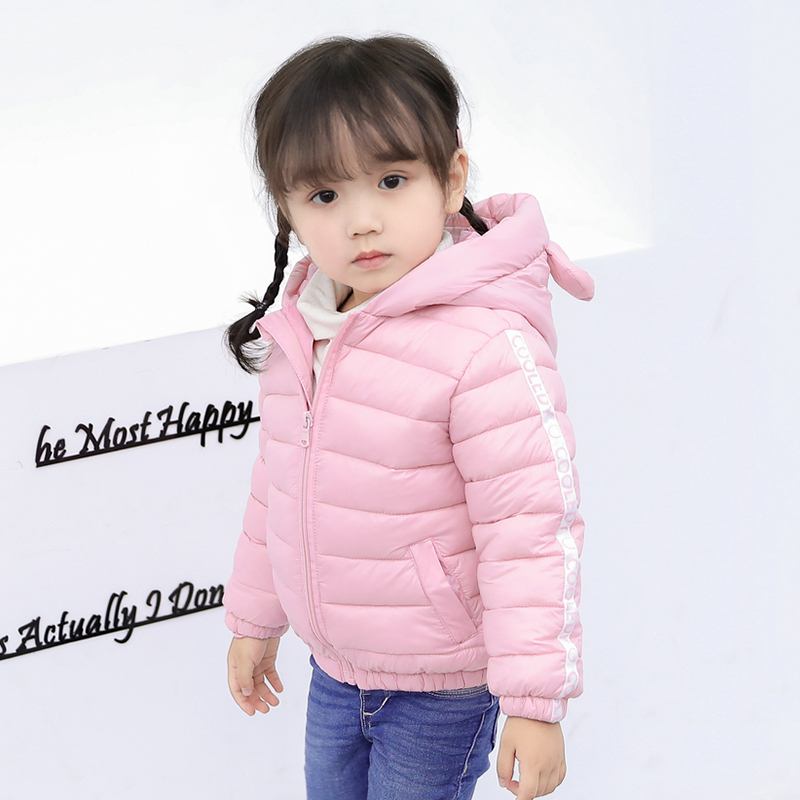 043f7ebad Fashion Autumn Hooded Kids Jackets For Girls Children s Jackets Baby ...