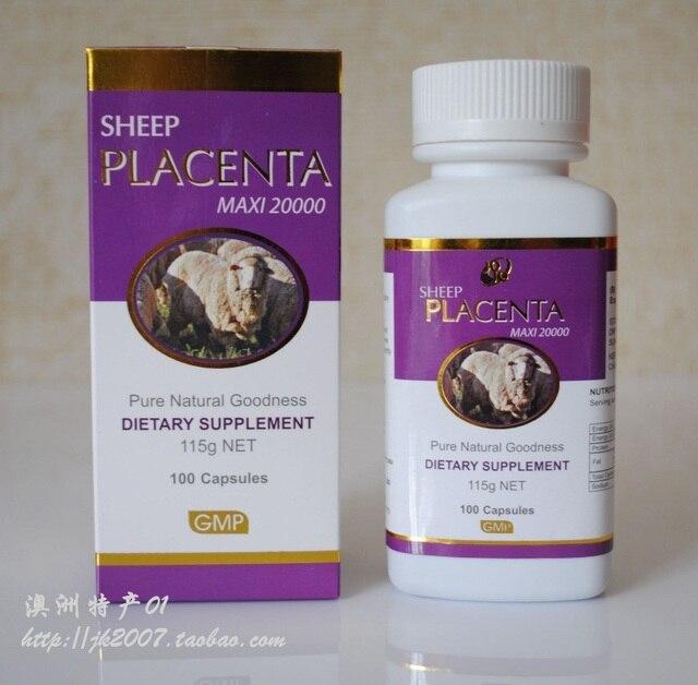 Placenta essence capsule jojo whitening beauty anti aging 20000mg
