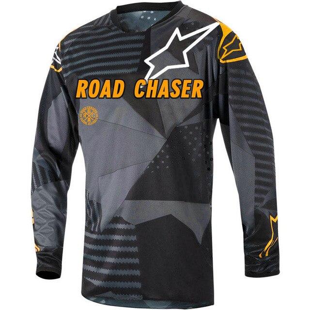 7b297e41b21 MTB Jersey Motocross star Moto Cross Clothes Maillot Camisa Ciclismo Hombre  Off-road Downhill Mtb Jerseys Vtt Cycling Shirt