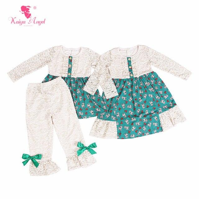 8d5820ac5 Aliexpress.com   Buy Kaiya Angel Boutique Kids Clothing Sets Autumn ...