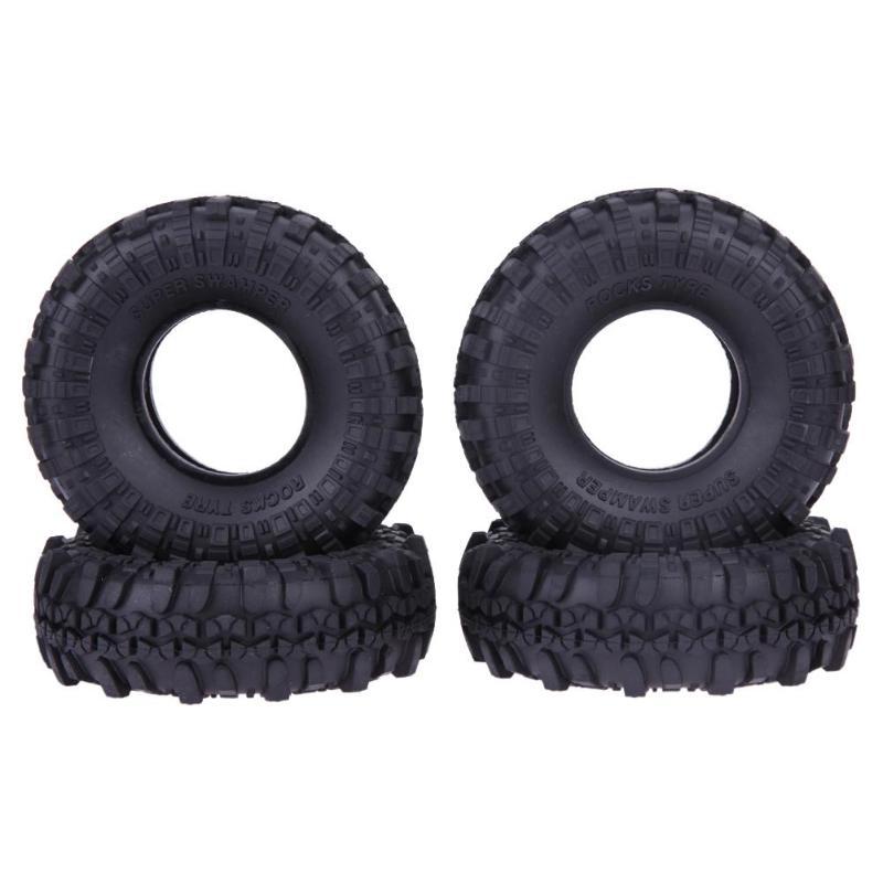 4PCS 120MM 1.9 Rubber Rocks Tyres / Wheel Tires for 1:10 RC Rock Crawler Axial SCX10 90047 D90 D110 TF2 Traxxas TRX-4 4pcs 110mm 1 9 rc 1 10 rubber tyres tires for 1 10 rc rock crawler wheels scx10 rc4wd d90 d110