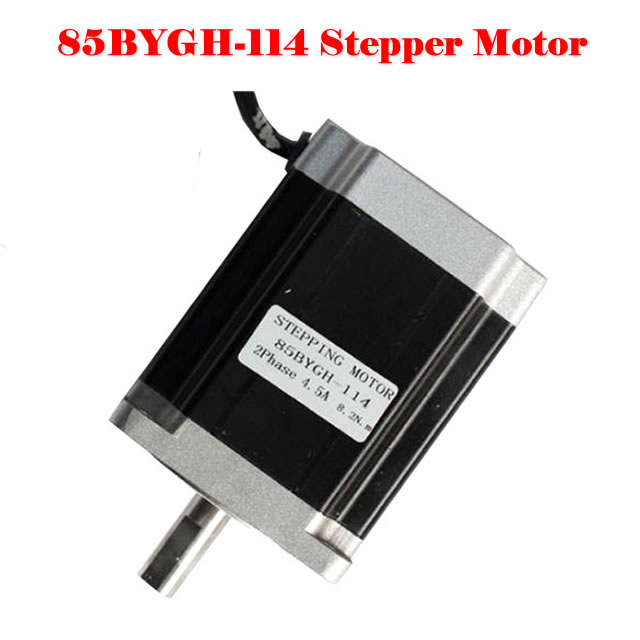 stepper motor drive 85BYGH-114mm long moment 8.2N.m for mini cnc router rc2604h stepper motor drive 578 586