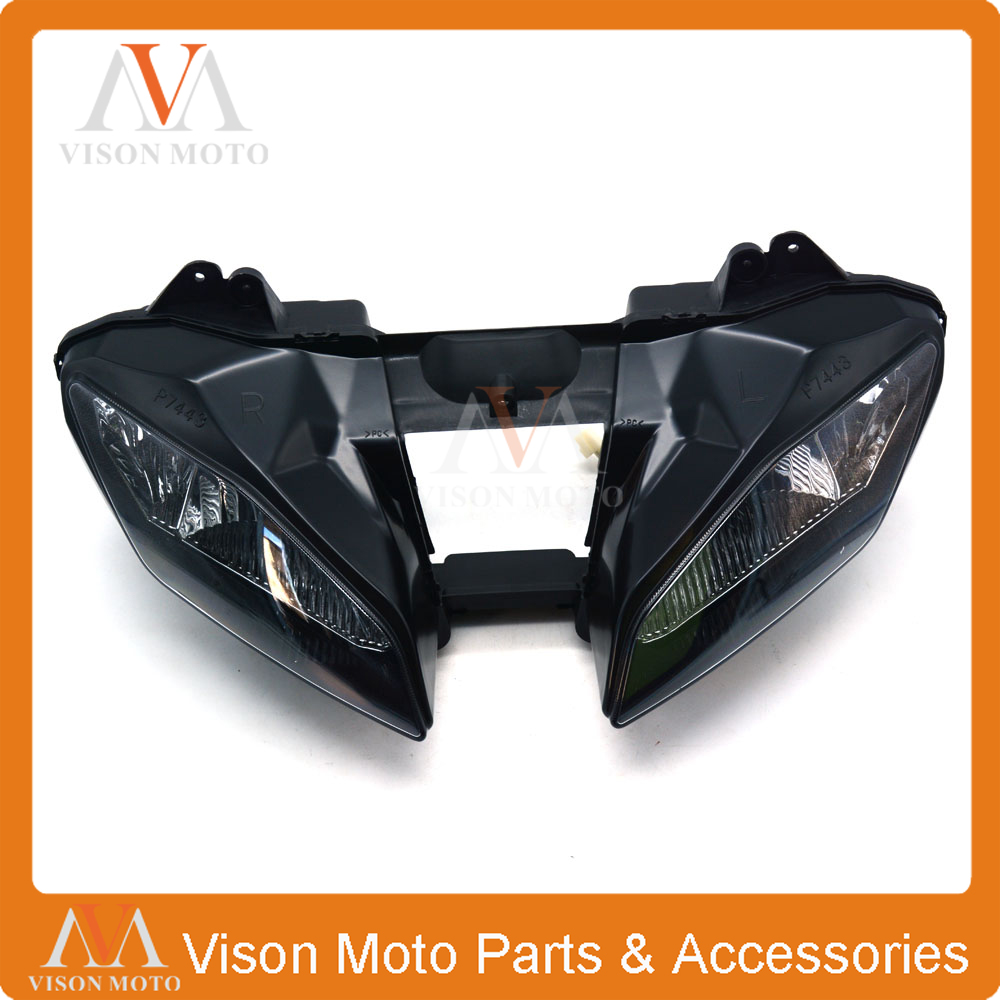 Motorcycle Front Light Headlight Head Lamp For YAMAHA YZF-R6 YZFR6 YZF R6 2008 2009 2010 2011 2012 08 09 10 11 12 hot sales yzf600 r6 08 14 set for yamaha r6 fairing kit 2008 2014 red and white bodywork fairings injection molding