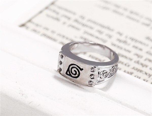 Лидер продаж, лидер продаж, кольца в стиле аниме Наруто, оксианган, посеребренные кольца, бижутерия для косплея, мужские аксессуары, модные м...