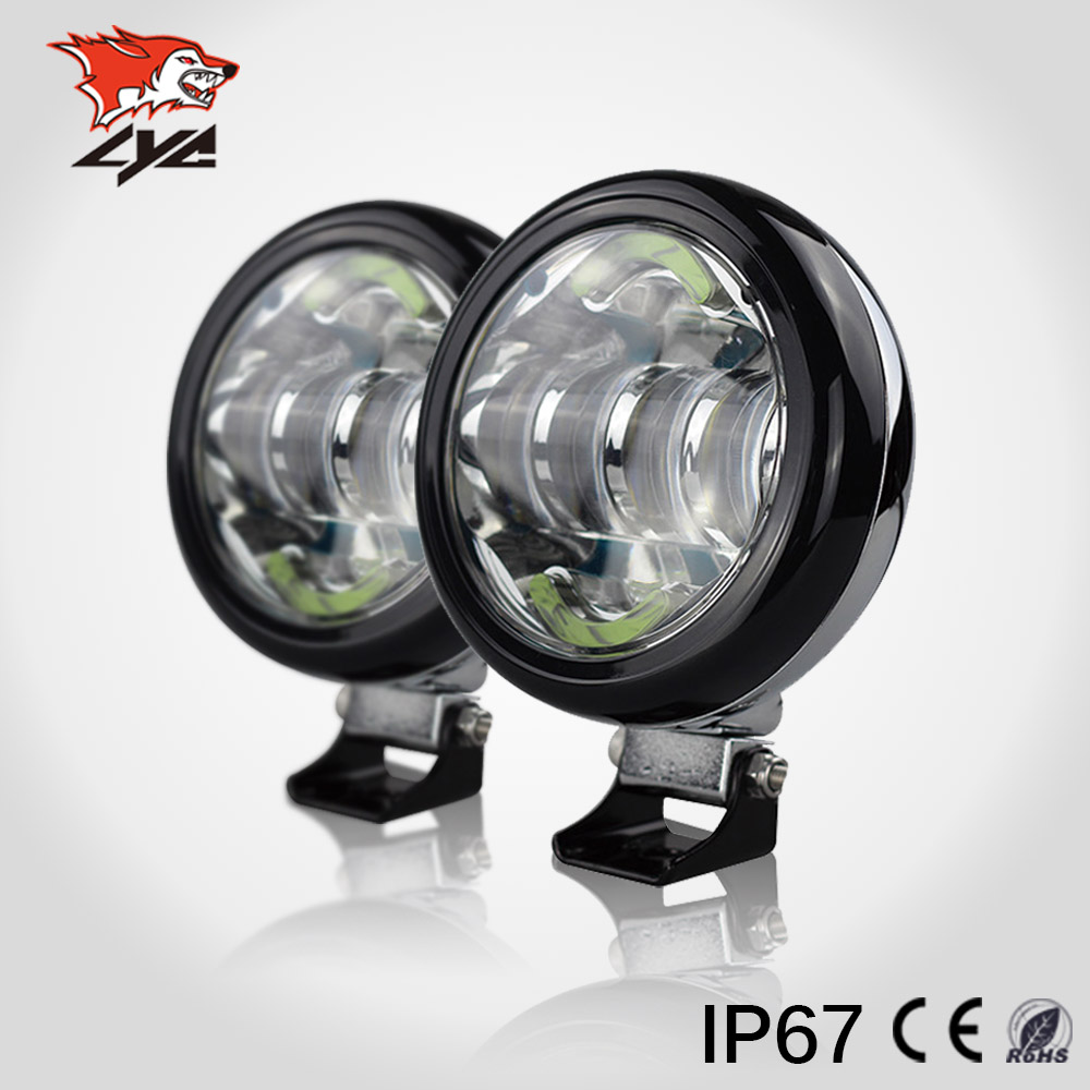 lyc led round driving lights best place to buy led lights for cars how. Black Bedroom Furniture Sets. Home Design Ideas