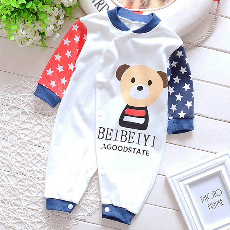 New 2016 Autumn/Winter Baby Rompers clothes long sleeved Newborn Boy Girl cotton Baby Jumpsuit newborn baby Clothing baby overalls long sleeve rompers clothing cotton dog anima 2017 new autumn winter newborn girl boy jumpsuit hat indoor clothes