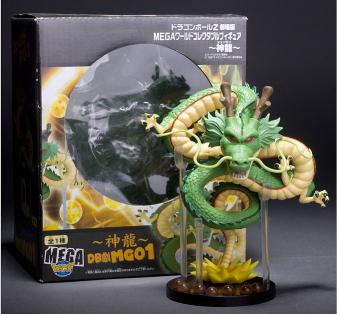 1Pcs Anime Cartoon Dragon Ball Z ShenRon ShenLong PVC Action Figure Model Toy 615cm Box Packaged Retail j g chen anime cartoon dragon ball z shenron shenlong gold pvc action figure collectible model toy free shipping