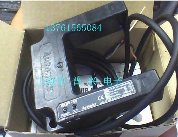 new original Photoelectric sensors BUP 50 12 24V PNP AUTONICS Korean brands