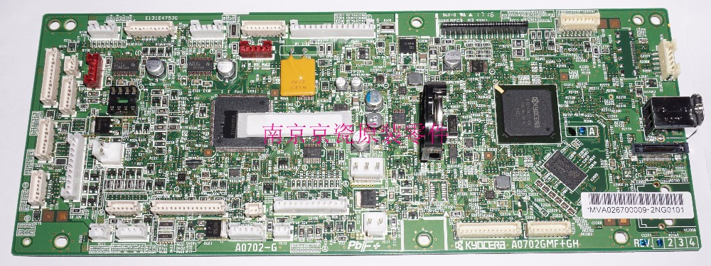 New Original Kyocera 302NN94040 PWB MAIN ENGINE ASSY for:TA1801 76046 5003 i o connectors stacked sfp 2x4 con nn assy w ti mr li