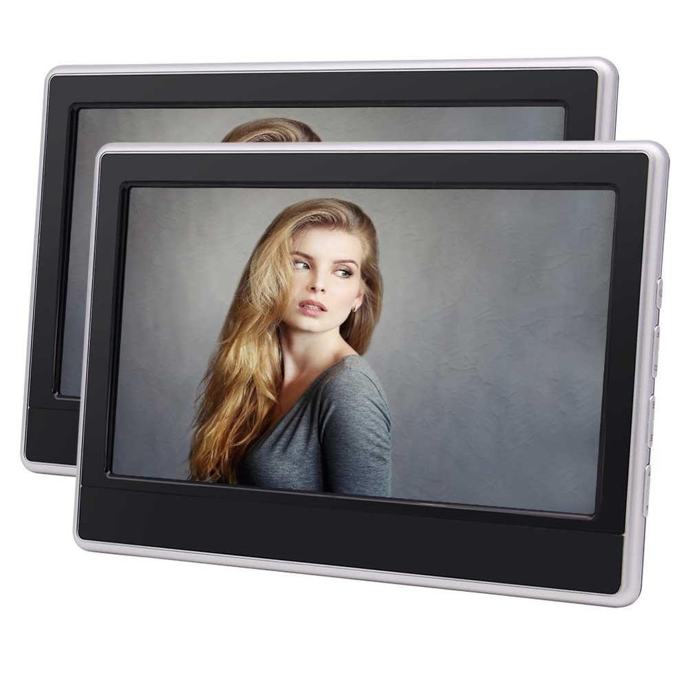 Eincar Twin 11,6 дюймов подголовник автомобиля dvd плеер авто монитор Поддержка HDMI fm ик передатчик USB SD 1080 P видео и удаленного Управление