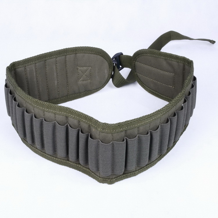 Adjustable Outdoor Hunting 30 Shotgun Bullet Belt Waist bag Tactical Hunting Gun bullet Pouch Strip Sling High Quality ww2 china army leather hunting submachine gun 10 clips folder pouch bag package cn 104125