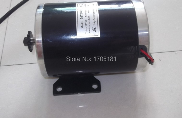 36v 1000w brush motor permanent magnet motor diy electric for Diy electric motor repair