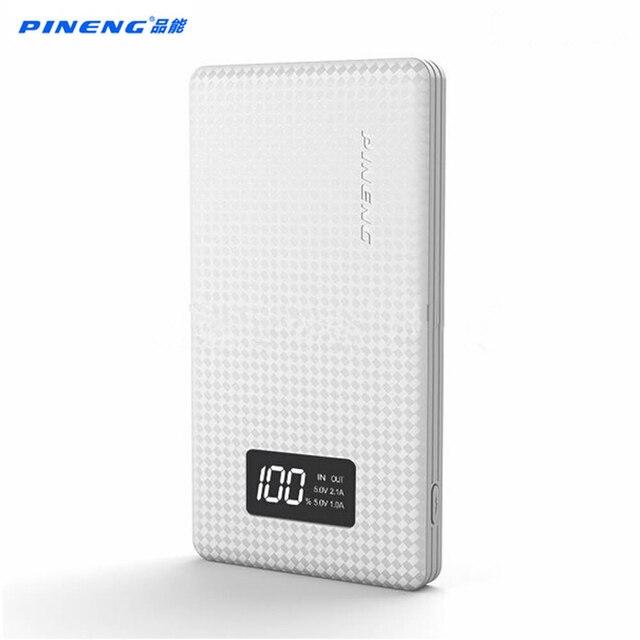 Pineng 10000 мАч PN963 Power Bank PN-963 портативный аккумулятор мобильный литий-полимерная банка со светодиодным индикатором для iphone7 Samsung S7