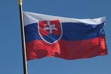 Slovakia FLAG slovak Banner EU 3*5feet Hanging Office/Activity/parade/Festival/Home Decoration NN054