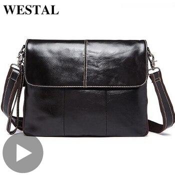 Luxury Big Fashion Handbag Briefcase Cross Body Crossbody For Genuine Leather Men Shoulder Bag Messenger Male Bolsas Sac A Main
