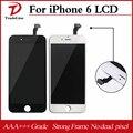 Preto cor branca display lcd substituição da tela de toque lcd para iphone 6 +++ aaa qualidade no dead pixel transporte rápido