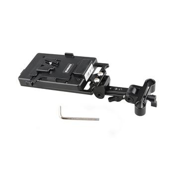 CAMVATE Battery Support Rig With V Lock Power Supply Splitter  C1888-1
