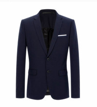 2018 New style coats Mens casual fashion single breasted high quality blazers men jackets, business