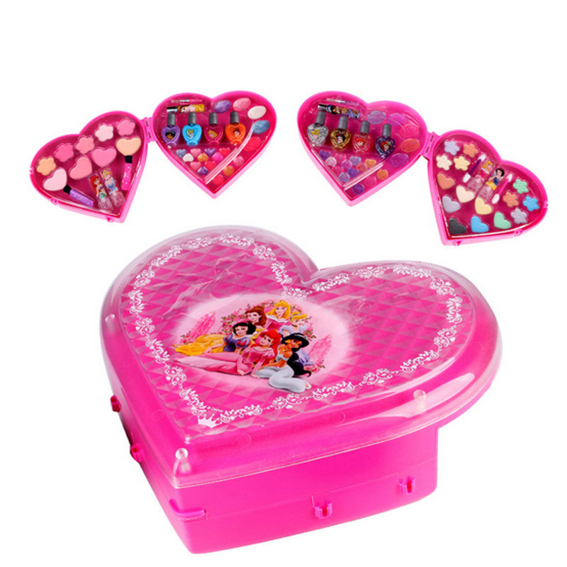 Princess makeup kids cosmetics for children water soluble