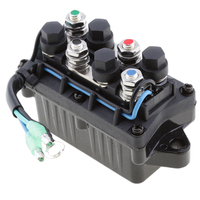 1 Pcs 2 Wire Plug 12V Power Trim & Relay For 40 225HP Yamaha 4 Stroke Outboard Engine Etc Repalce 63P 81950 00 00