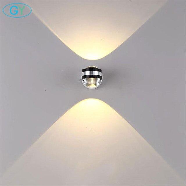 US $12.99  AC100 240V 3 W 6 W moderne wand licht led spot licht dekoration  für esszimmer küche, treppen restaurant wand montiert lichter in AC100-240V  ...