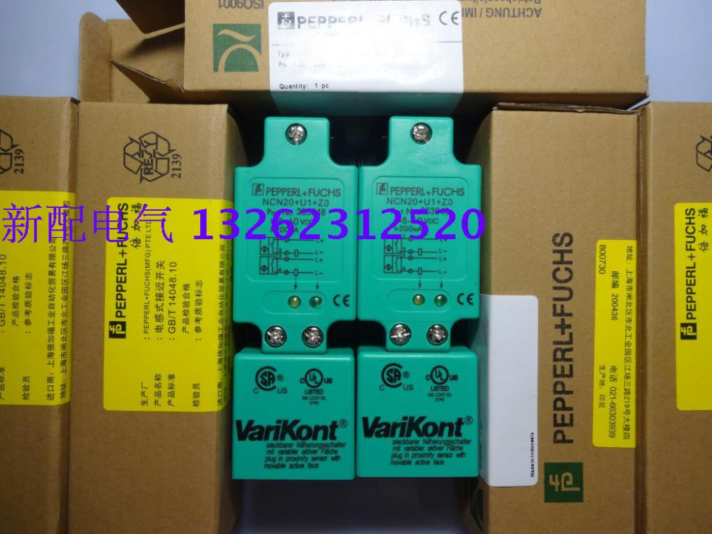 NCN20+U1+Z0 New High-Quality P+F Inductive Proximity Switch Sensor Warranty For One Year proximity switch ime12 04bpozc0s pnp nc m12 sick 100% brand new high quality warranty for one year