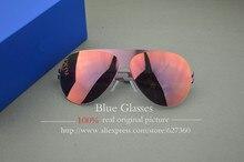 Высокое качество бренда очки ТАК ГЛАДКОЙ ВЕТРА франц солнцезащитные очки женщины и мужчины 18 К золото металл путешествия и пляж Солнцезащитные Очки