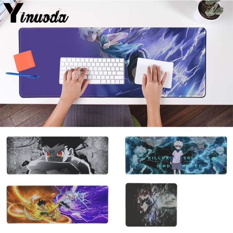 Anime Naruto Sasuke Game Mouse Pad Profession PC Large Mats Muti size 57
