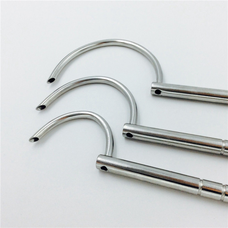 4mm Hole Wire Passers Wire Guider Veterinary Orthopedics Instrument 3pcs/set