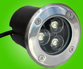 Hot Sale CE&RoHS IP68 9W Warm Cold White LED Underground Lamp Buried Inground Light 2 Years Warranty