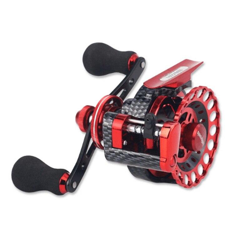 Yumoshi nouveau FBE 10 + 1BB 2.6: 1 65 MM moulinet de pêche à la mouche roue de pêche en eau douce/salée moulinets de pêche à la main droite roues de moulinet