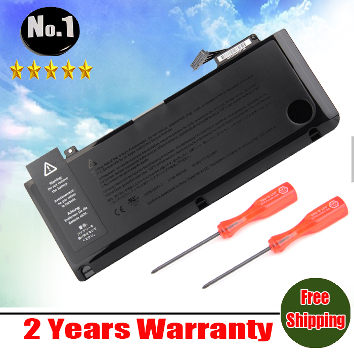 NEW Laptop Battery For APPLE MacBook Pro 13 A1322 A1278 ( 2009-2012 year ) MB990 MB991 MC700 MC374 MD313 MD101 MD314 MC724