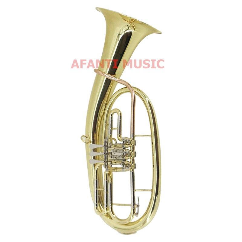Afanti Music Bb tone / Yellow Brass / Gold Lacquer Baritone (BAR 109)