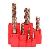 1pc End Mill Diameter 14mm HRC58 4F D14X100L Roughing Carbide Milling Cutter Milling Bit Lathe Tool