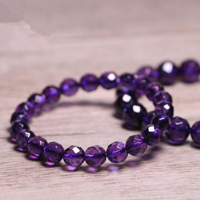 Bracelet D'amethyste