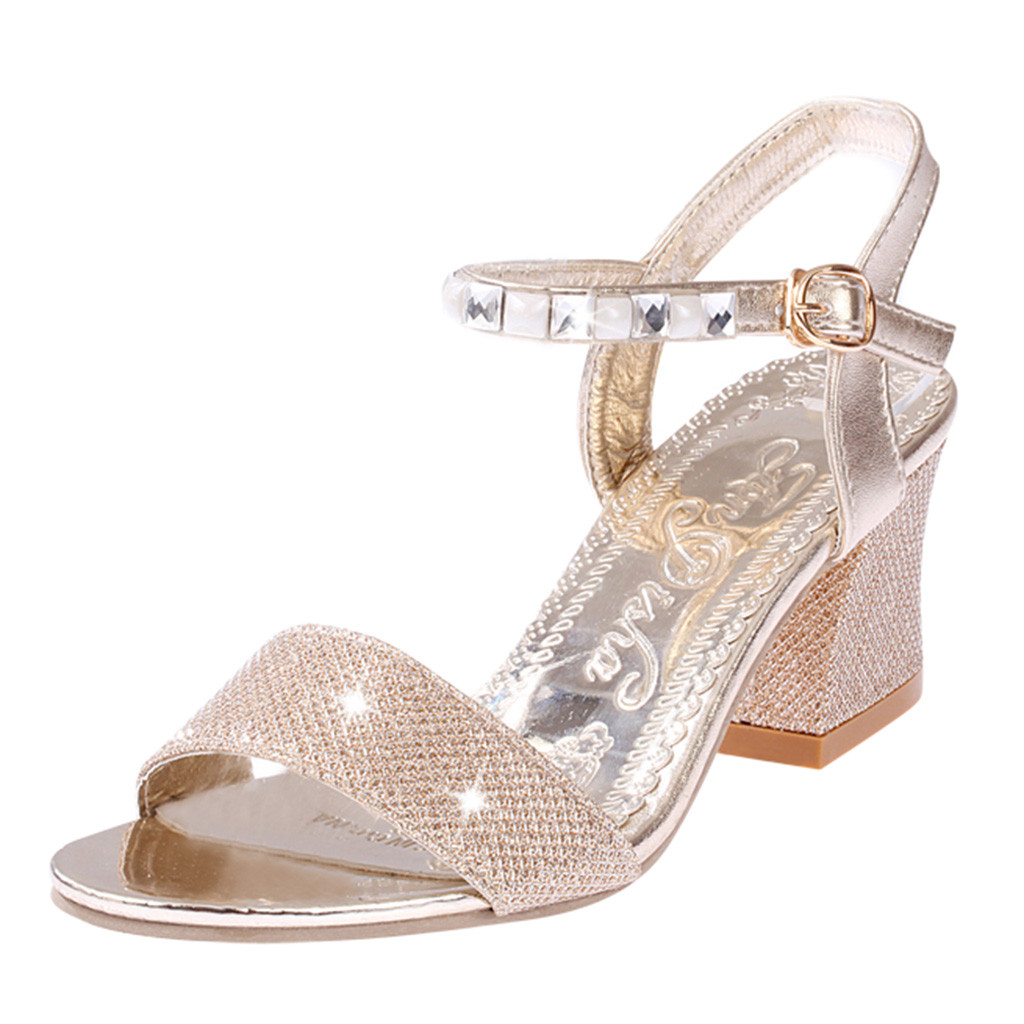 SAGACE Women Ladies Fashion Crystal Casual Square Heel Single Shoes Sandals Sexy High Quality Outside Summer Ladies Shoes 2019SAGACE Women Ladies Fashion Crystal Casual Square Heel Single Shoes Sandals Sexy High Quality Outside Summer Ladies Shoes 2019