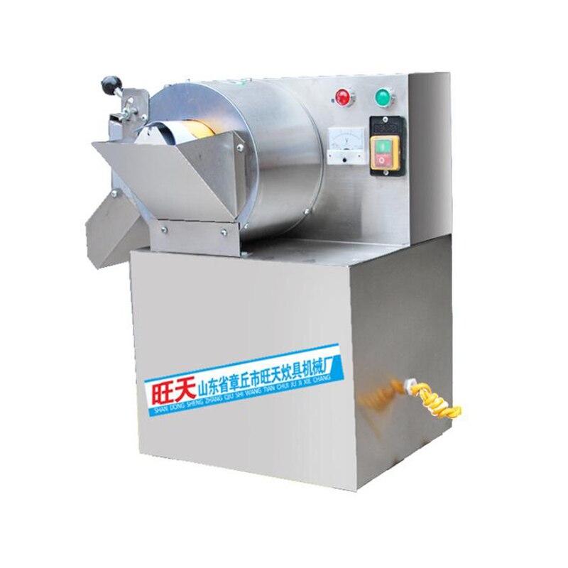 Электрическая Дыня резки фруктов слайсер коммерческий маленький картофель автоматическая машина для резки овощей резки машина A30