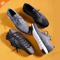 Xiaomi mijia крутая повседневная обувь с мягкой подошвой легкие антибактериальные дезодоранты дышащие мужские беговые прогулочные туфли умный ...
