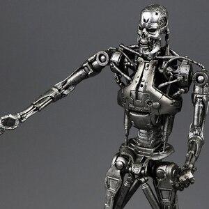 """Image 2 - (Geen Doos) gratis Verzending Neca The Terminator 2 Action Figure T800 Cyberdyne Showdown Pvc Figuur Toy 7 """"18Cm MVFG132"""