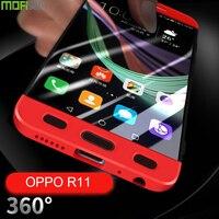 Oppo R11 Case Back Cover Oppo R11 Plus Case Cover Luxury Matte Back Case Cover Capas