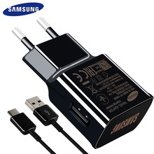 Samsung S8 S9 plus note9 Original Fast Charger 9V1.67A Quick Adapter EU/US Note8 S9 S8 C5 C7 C9 pro 1.2/1.5M USB Type C Cable(China)