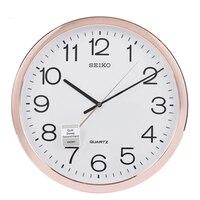 Metal Acrylic Modern Wall Watch Quartz Silent Nordic Vintage Bathroom Kitchen Clock Home Rose Gold Reloj Pared Clocks 51B0022