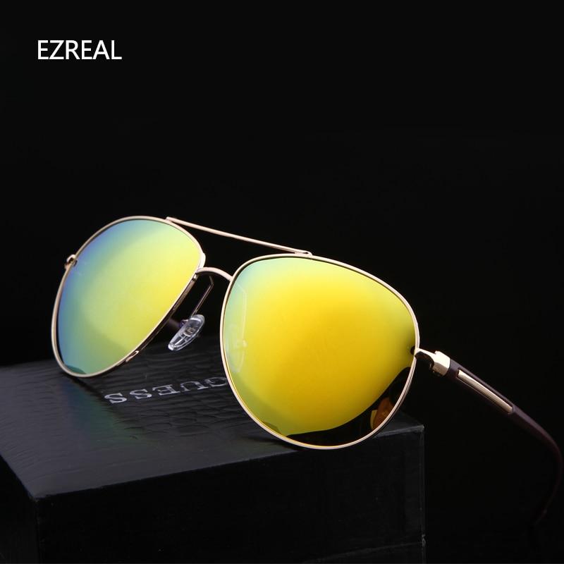2017 ezreal store marke gold rahmen polarisierte sonnenbrille mode ...