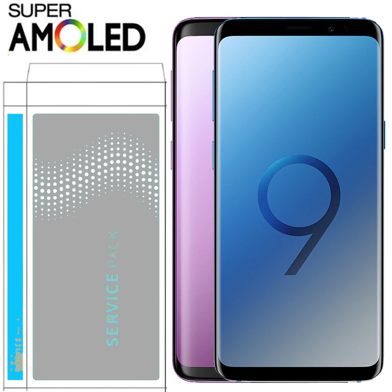 ORIGINAL AMOLED Replacement for SAMSUNG Galaxy S9 S9 Plus LCD Touch Screen Digitizer with Frame G960 Innrech Market.com