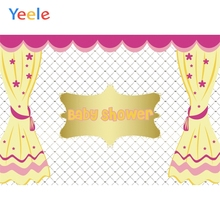 Yeele Baby Shower Princess & Prince New Life Crown Photography Backdrops Personalized Photographic Backgrounds For Photo Studio