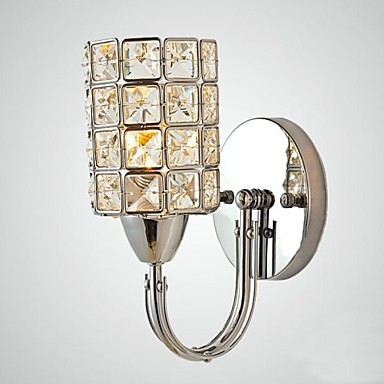Fashion Crystal Wall Sconce Modern LED Wall Light Fixtures For Home Bedroom Bedside Wall Lamps Lamparas Pared Arandela modern acrylic led wall lights bedroom bedside wall lamp lampara de pared bed room decoration lighting wall sconces